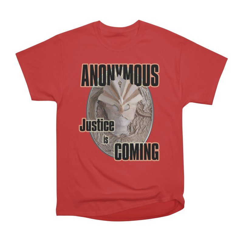 Vote ANONYMOUS Women's Heavyweight Unisex T-Shirt by NadineMay Artist Shop