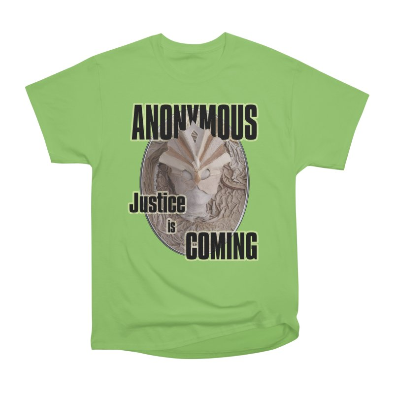 Vote ANONYMOUS Men's Heavyweight T-Shirt by NadineMay Artist Shop