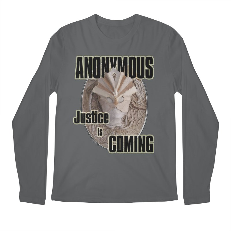 Vote ANONYMOUS Men's Longsleeve T-Shirt by NadineMay Artist Shop