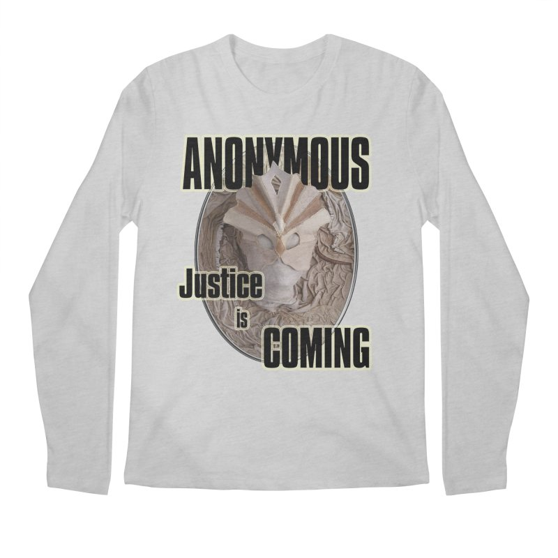 Vote ANONYMOUS Men's Regular Longsleeve T-Shirt by NadineMay Artist Shop