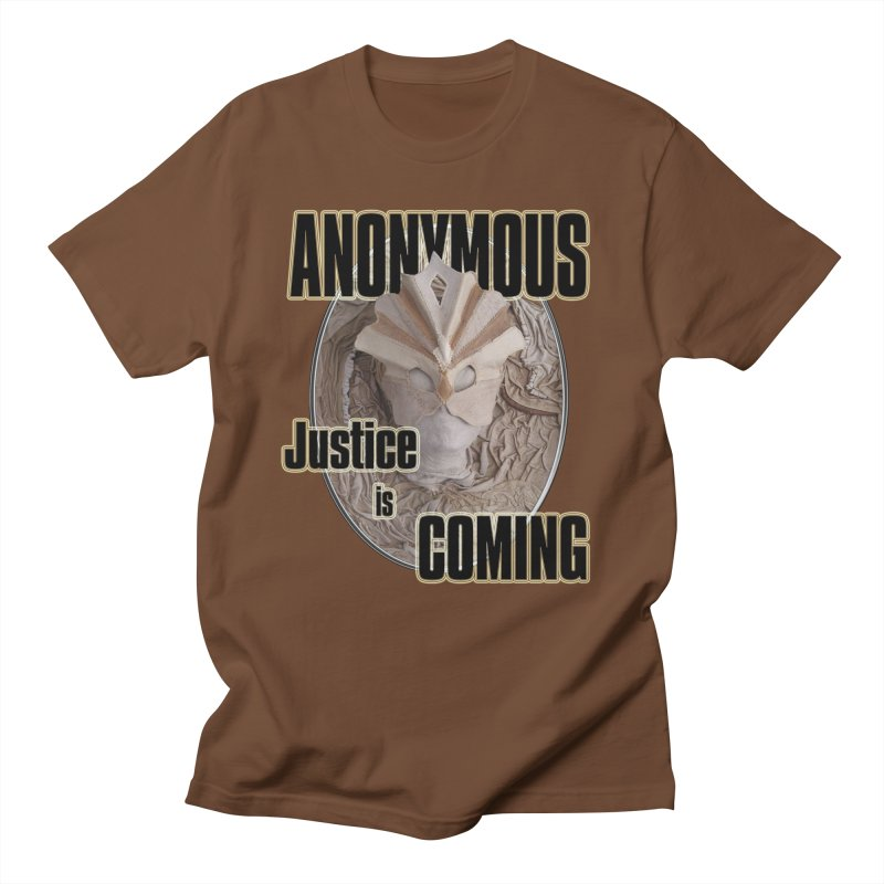 Vote ANONYMOUS Men's Regular T-Shirt by NadineMay Artist Shop