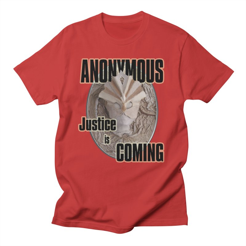 Vote ANONYMOUS Men's T-shirt by NadineMay Artist Shop
