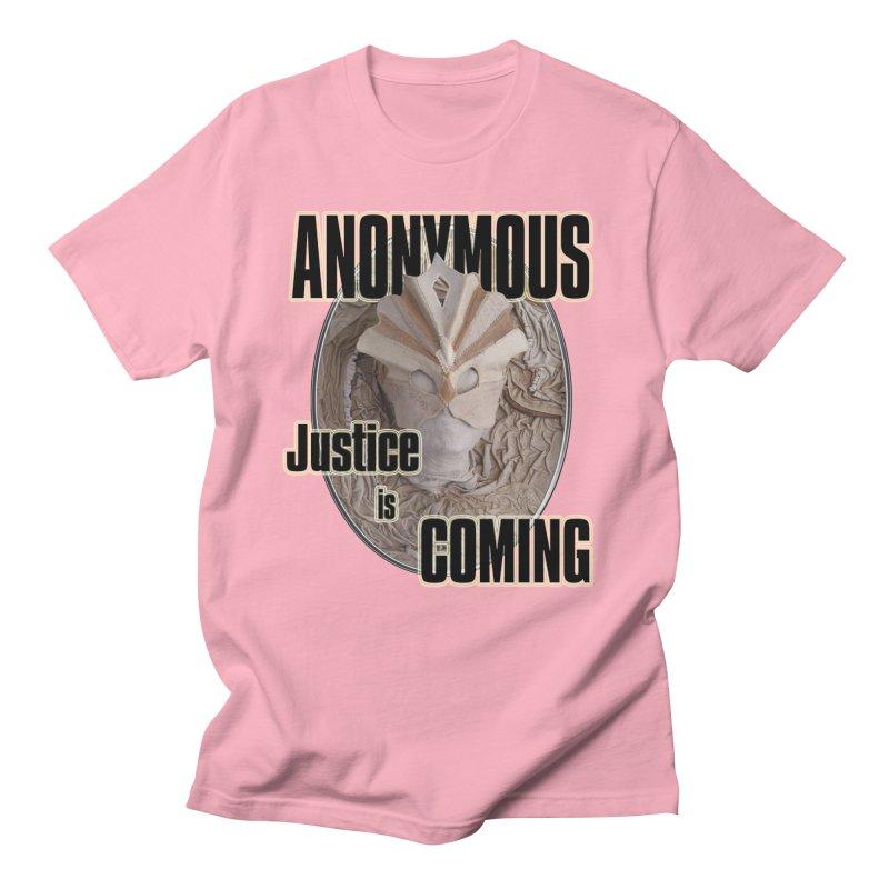 Vote ANONYMOUS Men's Regular T-Shirt by NadineMay Artist Shop