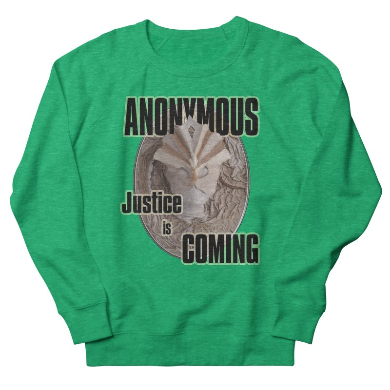 Vote ANONYMOUS Women's Sweatshirt by NadineMay Artist Shop