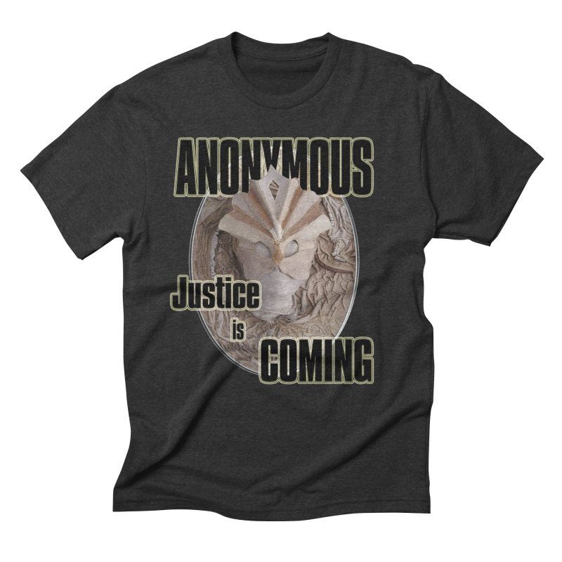 Vote ANONYMOUS Men's Triblend T-shirt by NadineMay Artist Shop