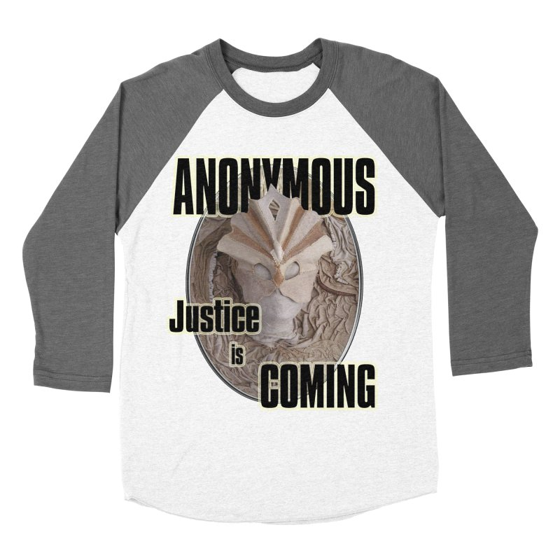 Vote ANONYMOUS Women's Baseball Triblend Longsleeve T-Shirt by NadineMay Artist Shop