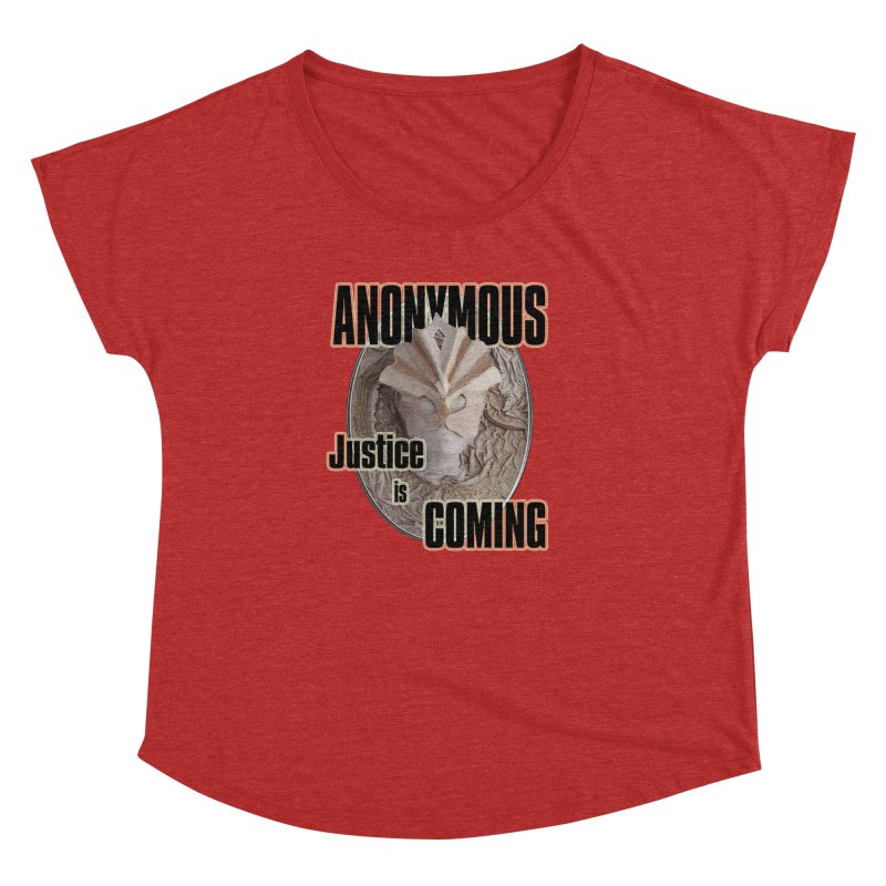 Vote ANONYMOUS Women's Dolman by NadineMay Artist Shop