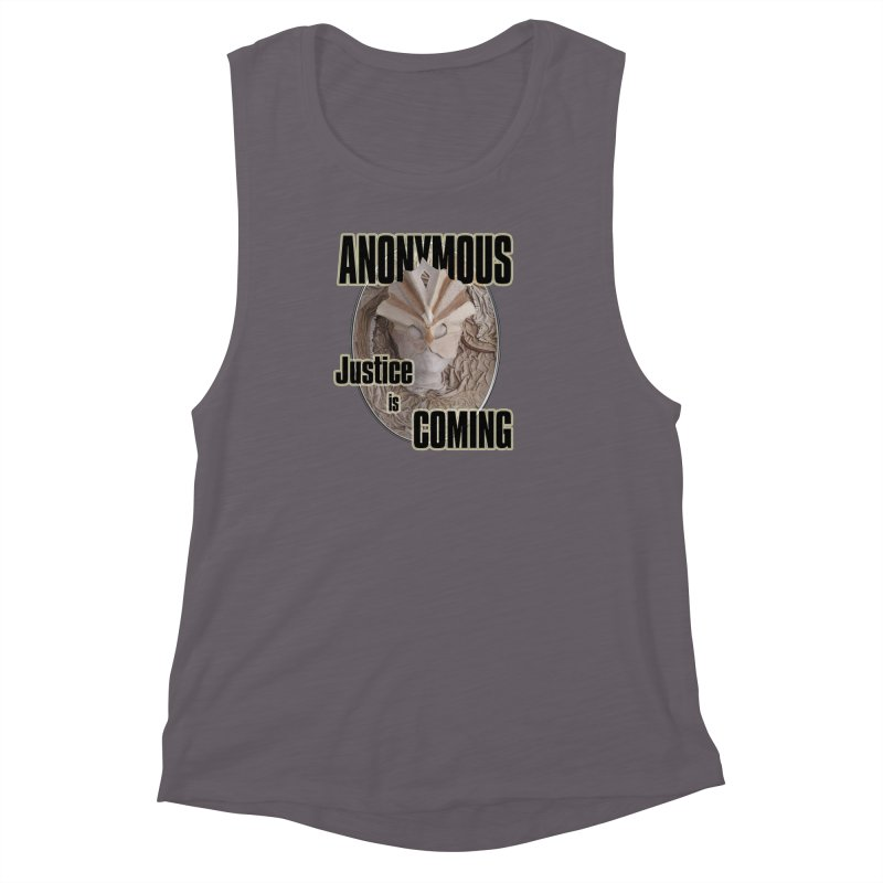 Vote ANONYMOUS Women's Muscle Tank by NadineMay Artist Shop