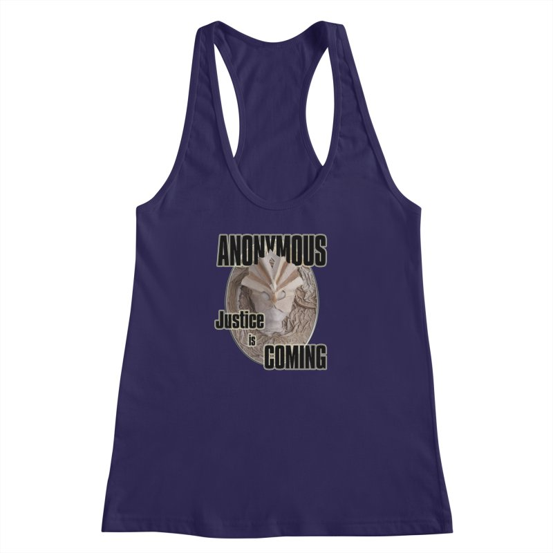Vote ANONYMOUS Women's Racerback Tank by NadineMay Artist Shop