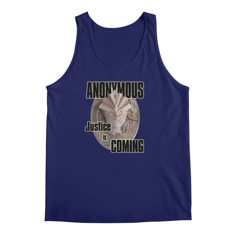 Vote ANONYMOUS Men's Regular Tank by NadineMay Artist Shop