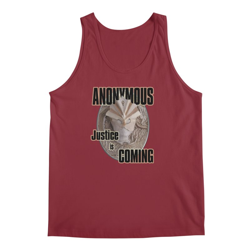 Vote ANONYMOUS Men's Tank by NadineMay Artist Shop