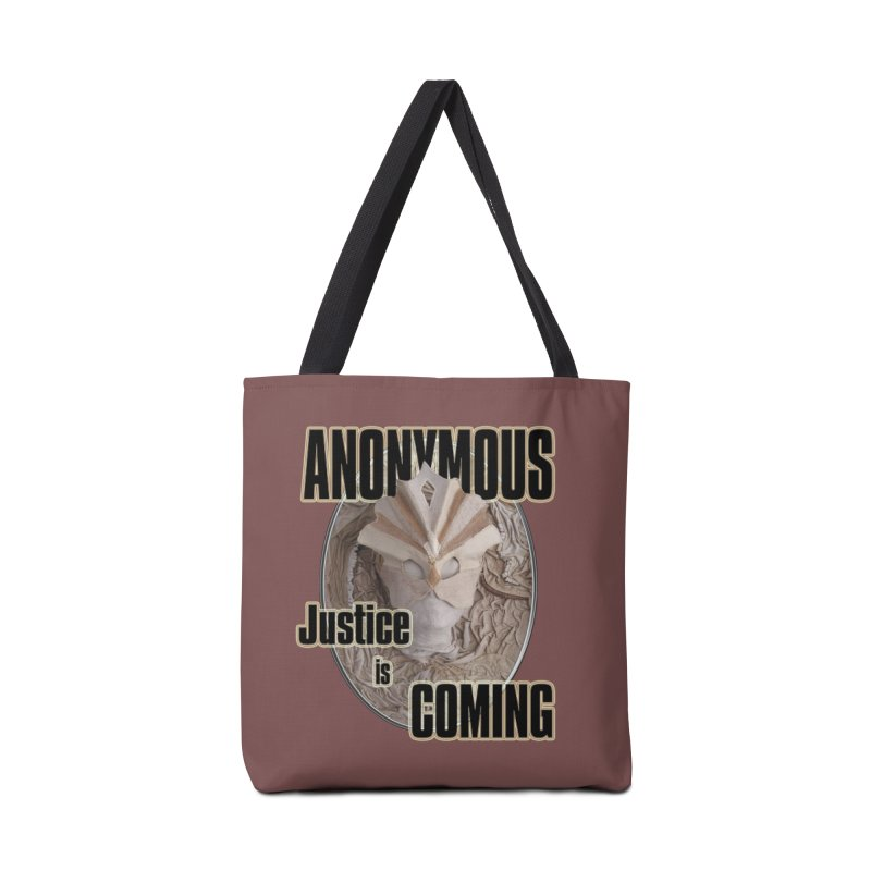 Vote ANONYMOUS Accessories Bag by NadineMay Artist Shop