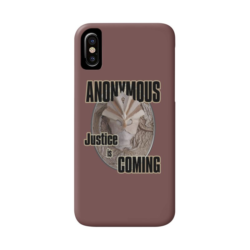 Vote ANONYMOUS Accessories Phone Case by NadineMay Artist Shop