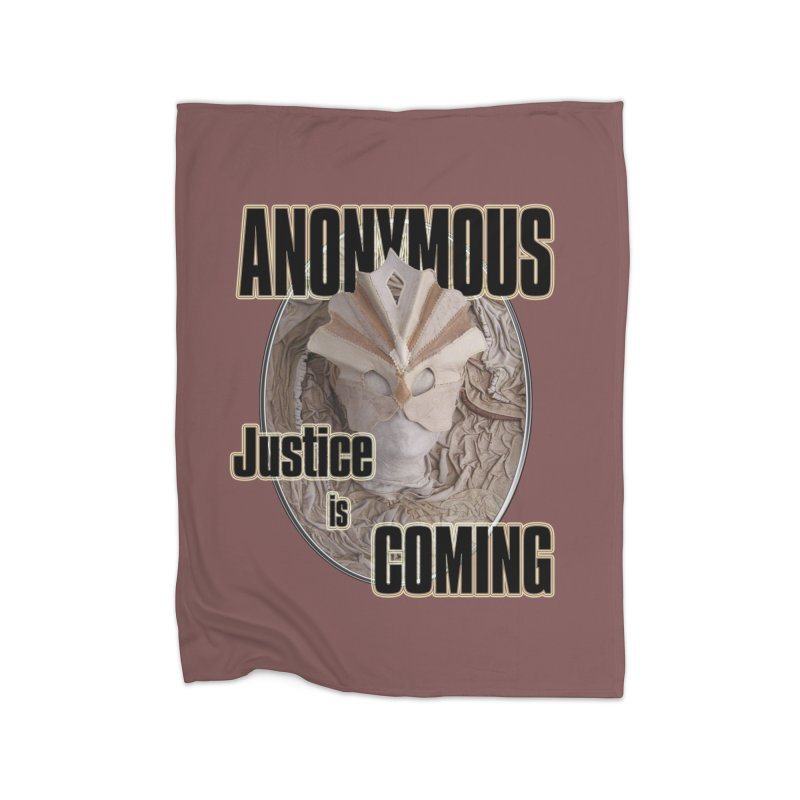 Vote ANONYMOUS Home Blanket by NadineMay Artist Shop