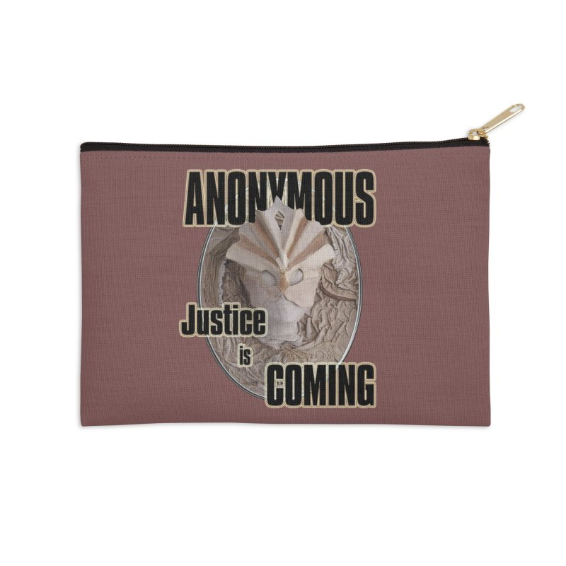 Vote ANONYMOUS Accessories Zip Pouch by NadineMay Artist Shop