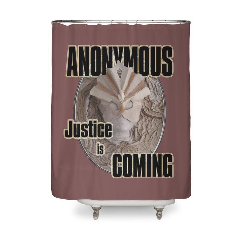 Vote ANONYMOUS Home Shower Curtain by NadineMay Artist Shop