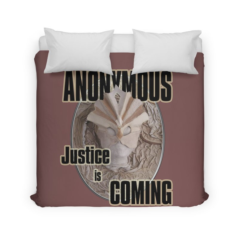 Vote ANONYMOUS Home Duvet by NadineMay Artist Shop