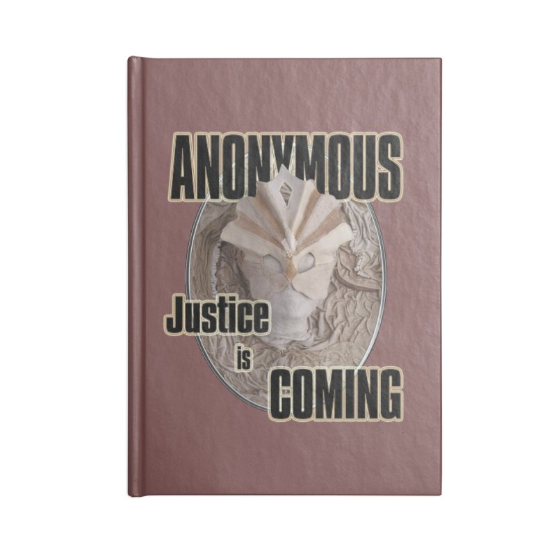 Vote ANONYMOUS Accessories Notebook by NadineMay Artist Shop