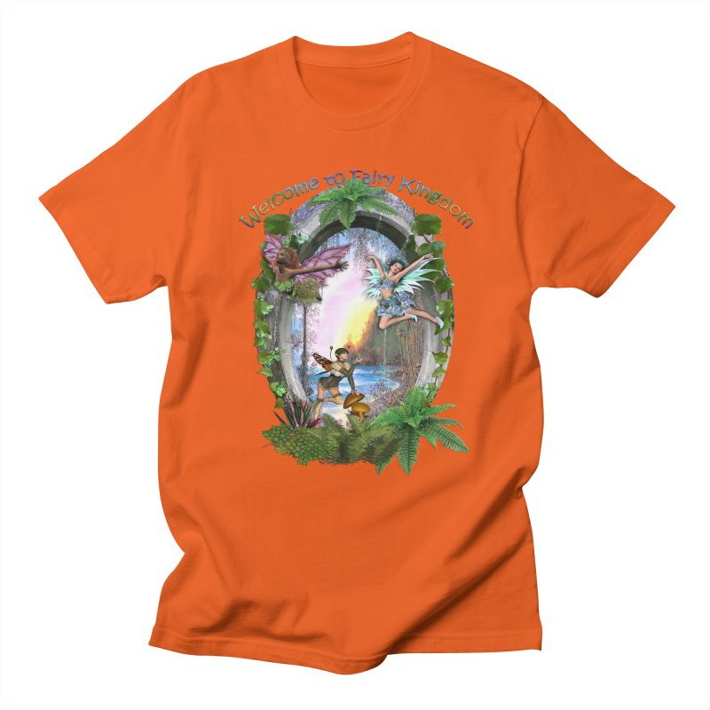Fairy Kingdom Men's T-shirt by NadineMay Artist Shop