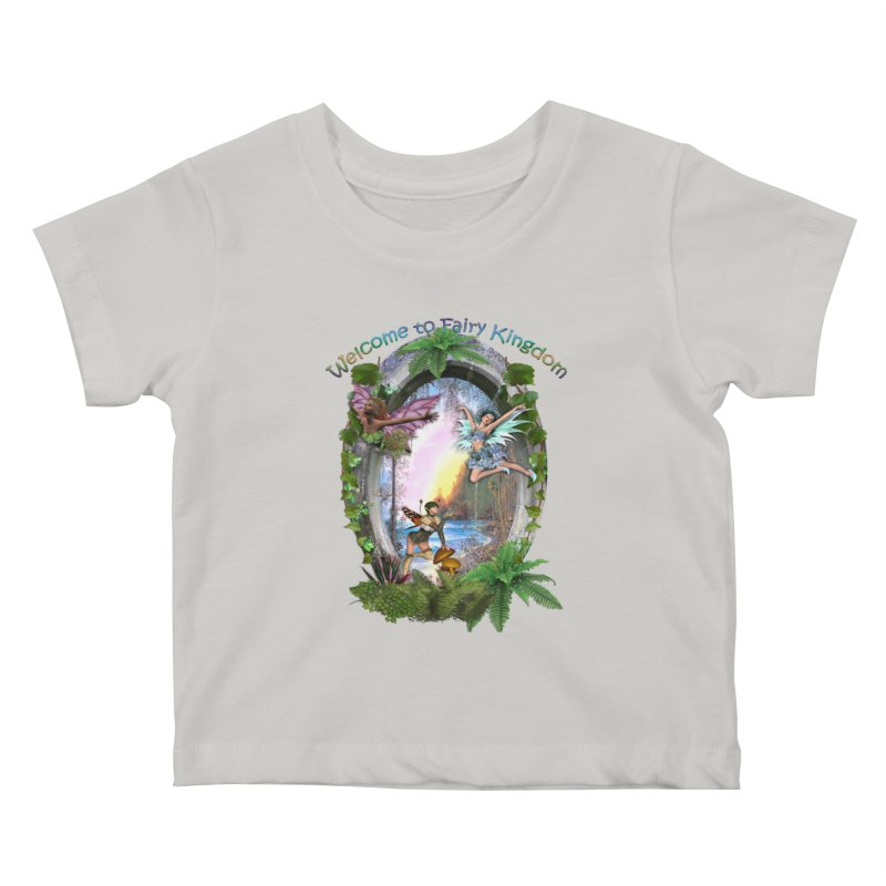 Fairy Kingdom Kids Baby T-Shirt by NadineMay Artist Shop