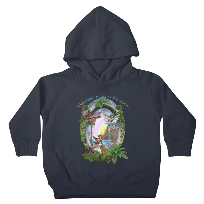Fairy Kingdom Kids Toddler Pullover Hoody by NadineMay Artist Shop