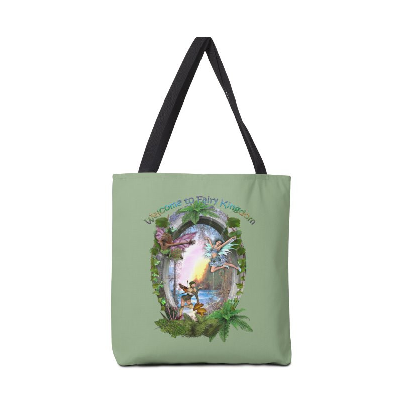 Fairy Kingdom Accessories Bag by NadineMay Artist Shop