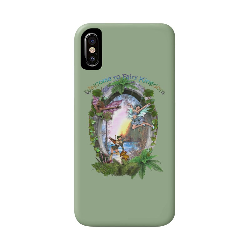Fairy Kingdom Accessories Phone Case by NadineMay Artist Shop