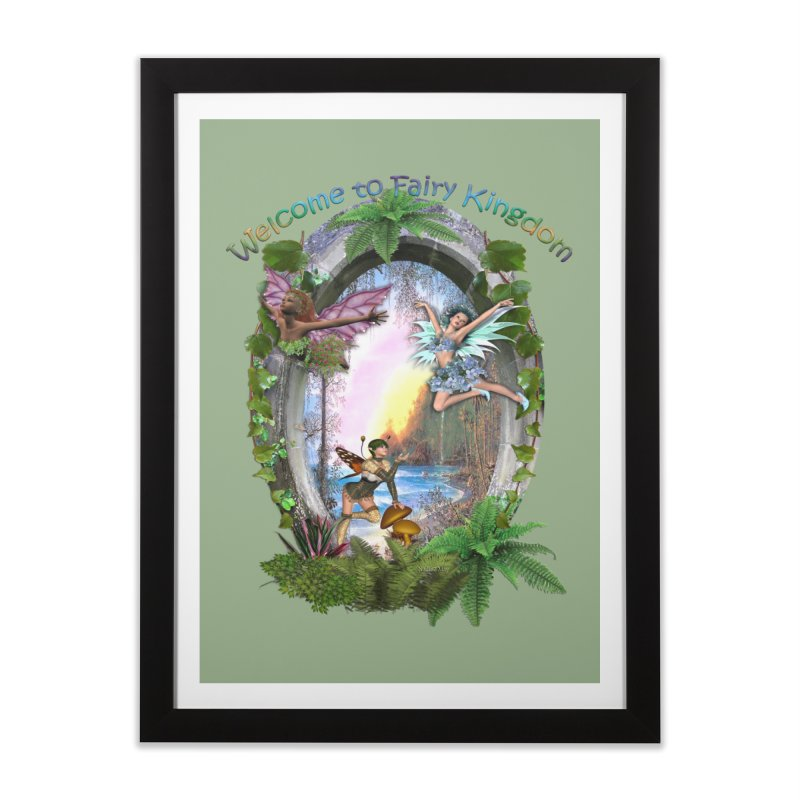 Fairy Kingdom Home Framed Fine Art Print by NadineMay Artist Shop
