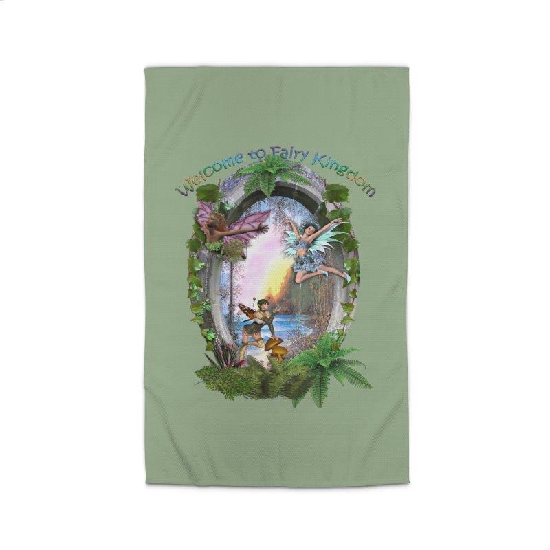 Fairy Kingdom Home Rug by NadineMay Artist Shop