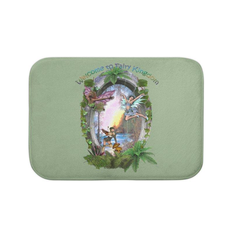 Fairy Kingdom Home Bath Mat by NadineMay Artist Shop