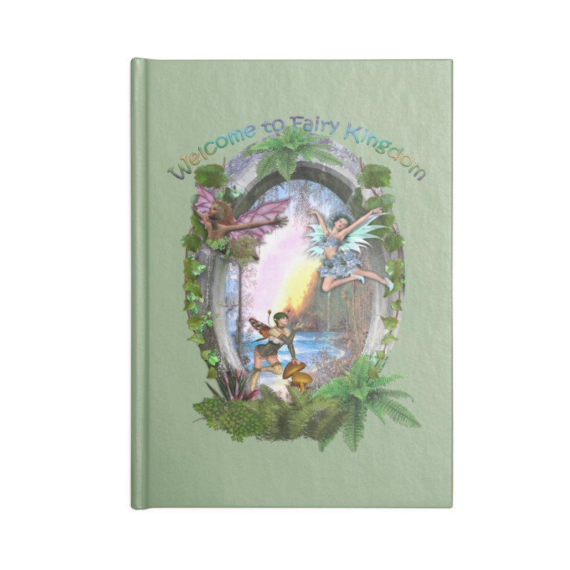 Fairy Kingdom Accessories Notebook by NadineMay Artist Shop