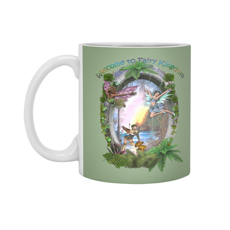 Fairy Kingdom Accessories Standard Mug by NadineMay Artist Shop