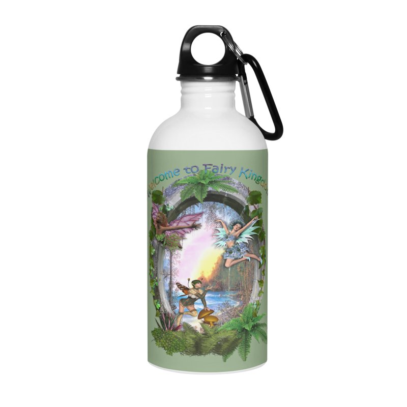 Fairy Kingdom Accessories Water Bottle by NadineMay Artist Shop