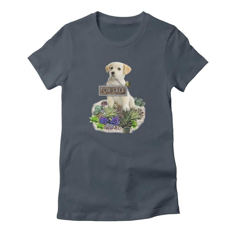 Labrador-Retriever puppy is for sale Women's Lounge Pants by NadineMay Artist Shop