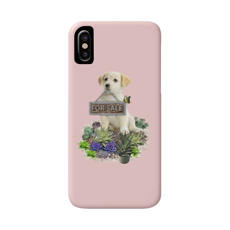 Labrador-Retriever puppy is for sale Accessories Phone Case by NadineMay Artist Shop