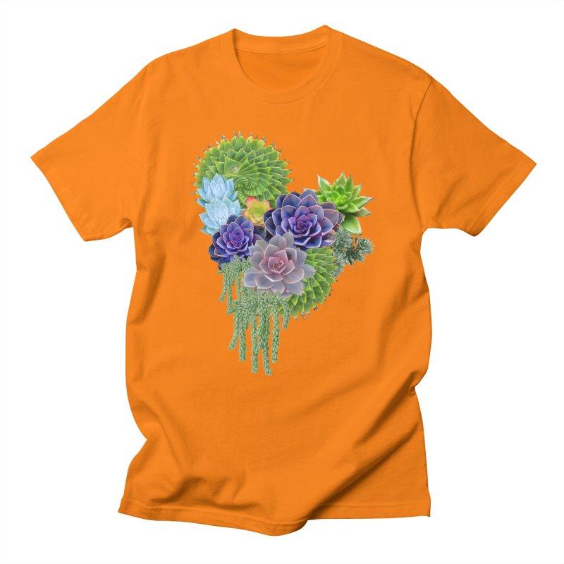 Succulent Story Men's T-Shirt by NadineMay Artist Shop