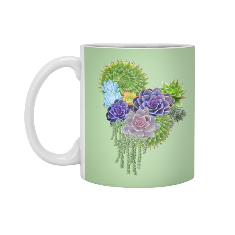 Succulent Story Accessories Standard Mug by NadineMay Artist Shop