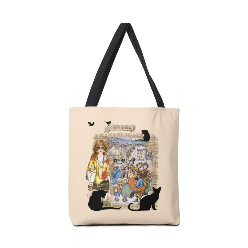 Carol singers in old Amsterdam Accessories Bag by NadineMay Artist Shop