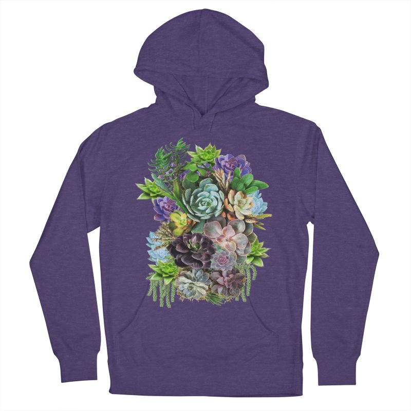 Succulent arraingement Women's Pullover Hoody by justkidding's Artist Shop