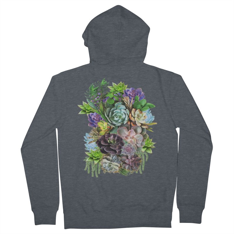 Succulent arraingement Women's Zip-Up Hoody by justkidding's Artist Shop