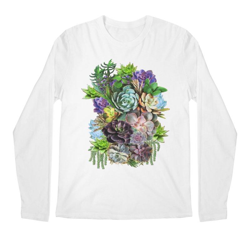 Succulent arraingement Men's Longsleeve T-Shirt by justkidding's Artist Shop