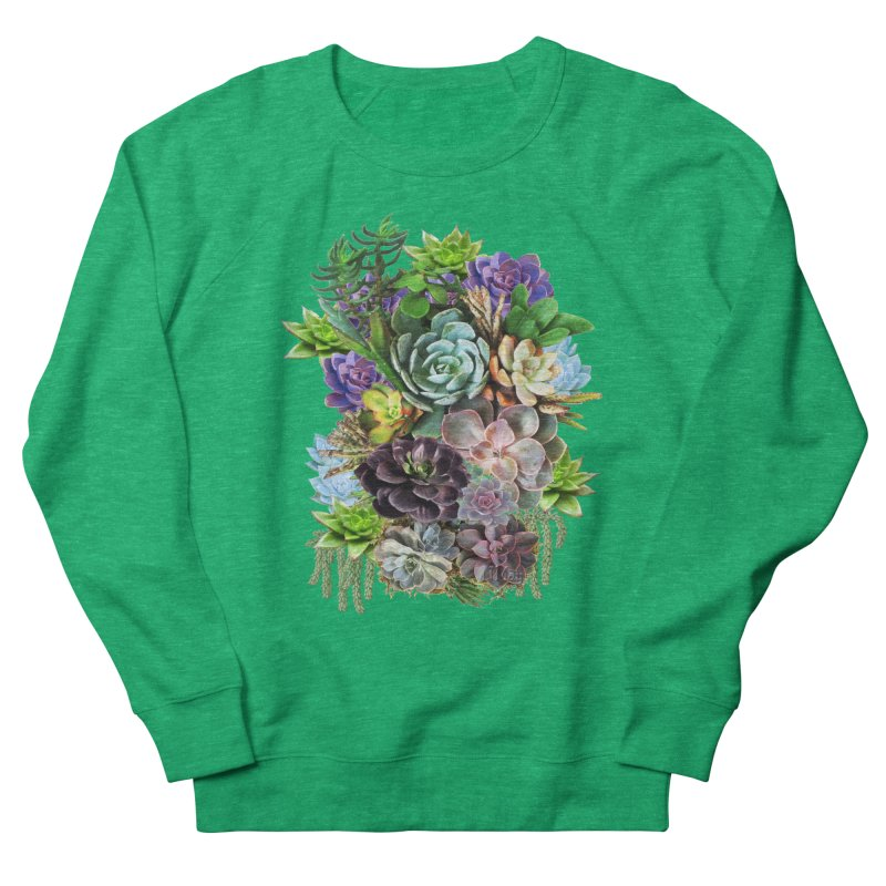 Succulent arraingement Men's Sweatshirt by justkidding's Artist Shop