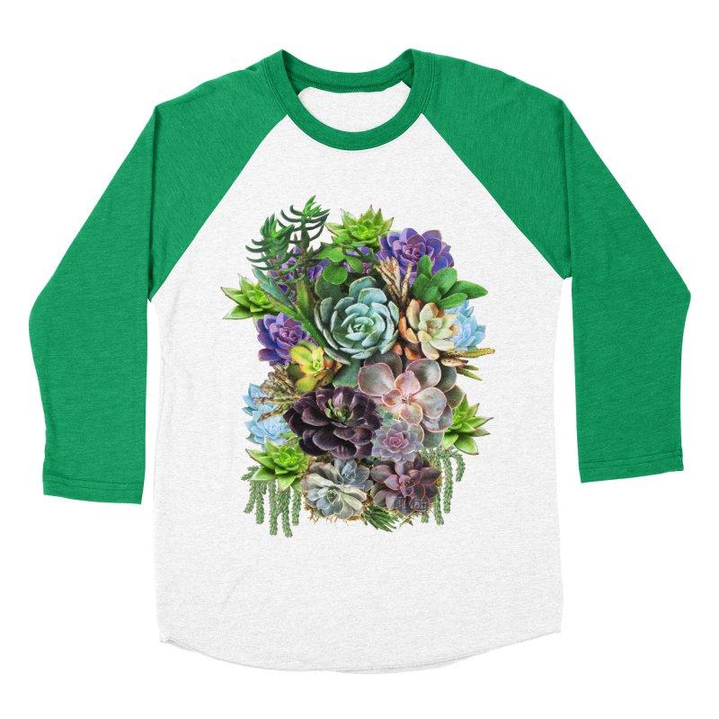 Succulent arraingement Men's Baseball Triblend T-Shirt by justkidding's Artist Shop