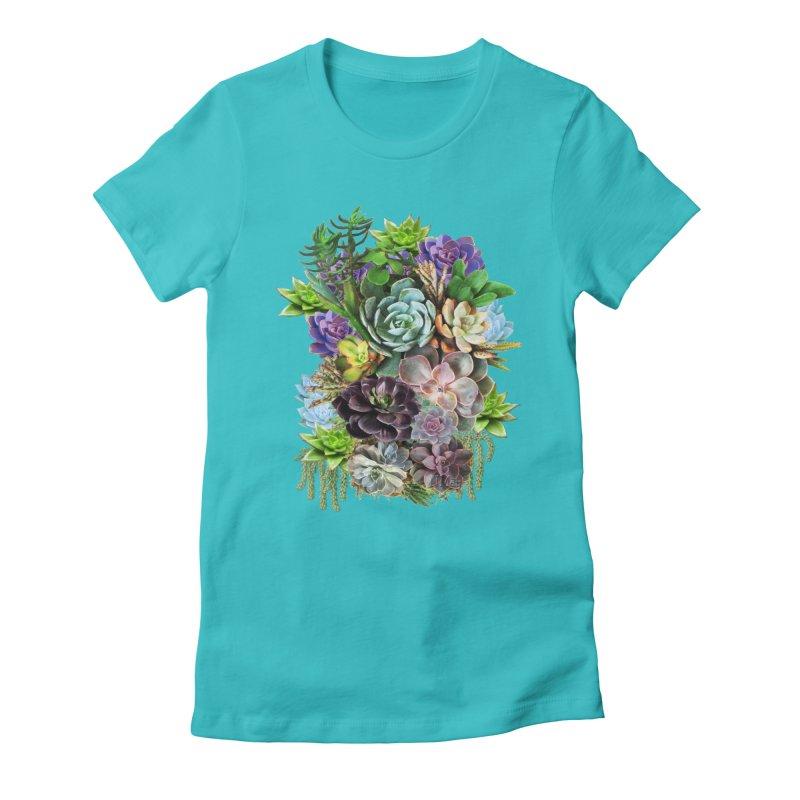 Succulent arraingement Women's T-Shirt by NadineMay Artist Shop