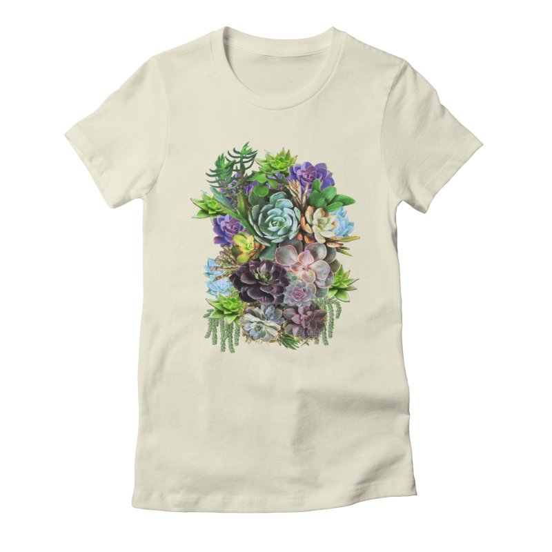 Succulent arraingement Women's T-Shirt by NadineMay Artist Shop