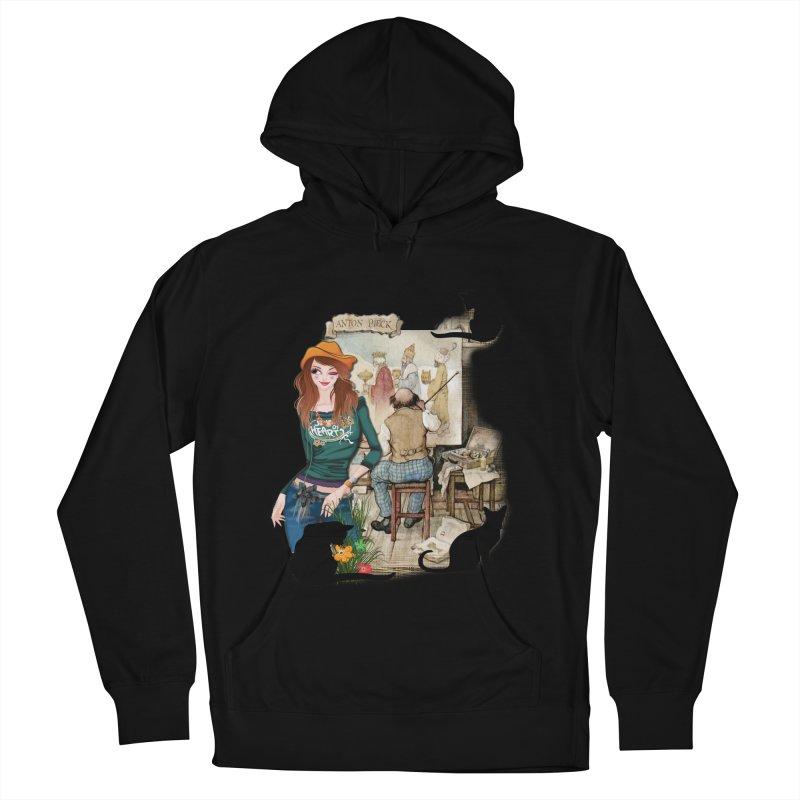 Artist Studio Women's Pullover Hoody by justkidding's Artist Shop