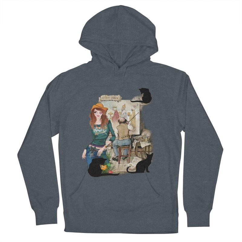 Artist Studio Men's Pullover Hoody by justkidding's Artist Shop
