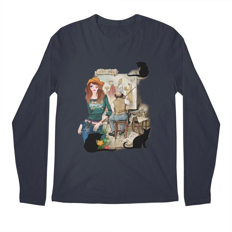 Artist Studio Men's Longsleeve T-Shirt by justkidding's Artist Shop