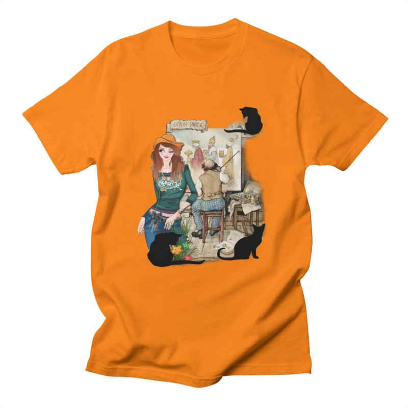 Artist Studio Men's T-shirt by justkidding's Artist Shop