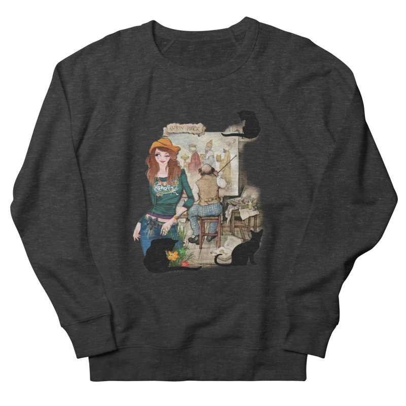 Artist Studio Women's Sweatshirt by justkidding's Artist Shop